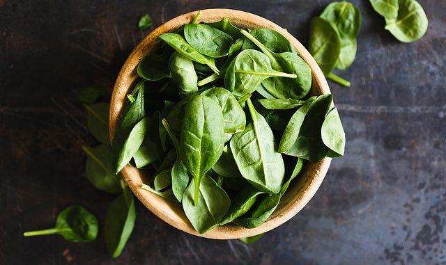 wofür ist magnesium gut - spinat