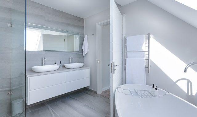 standardmaße im badezimmer